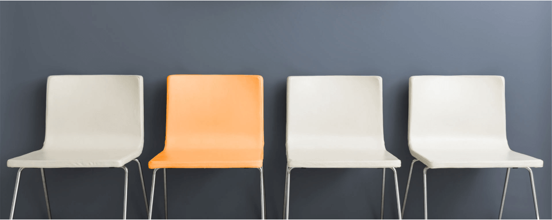 chairs in the office