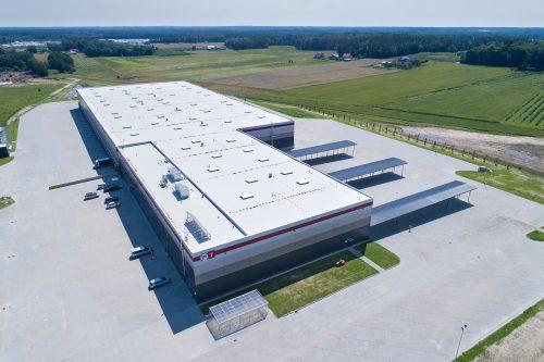 Sortownia InPost / P3 Mszczonów Logistic Park
