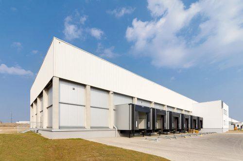 Frigo Logistics, rozbudowa hali mroźni-sortera / Radomsko